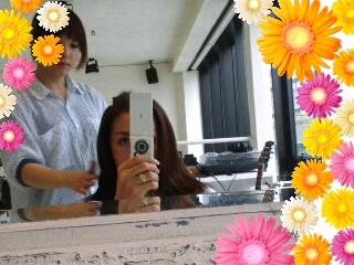髪のお手入れ(`∇´ゞ